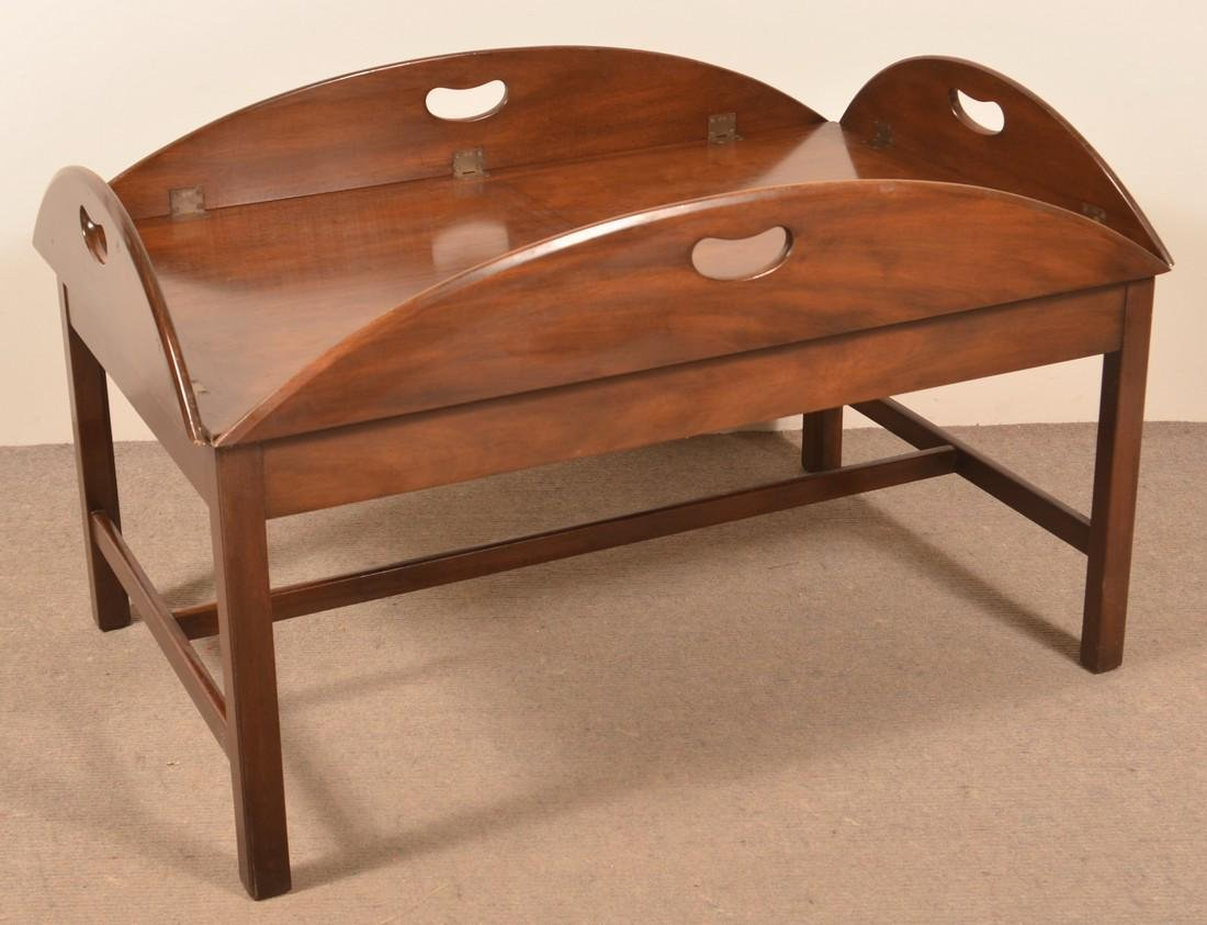 Kittenger Mahogany Butlers Table.