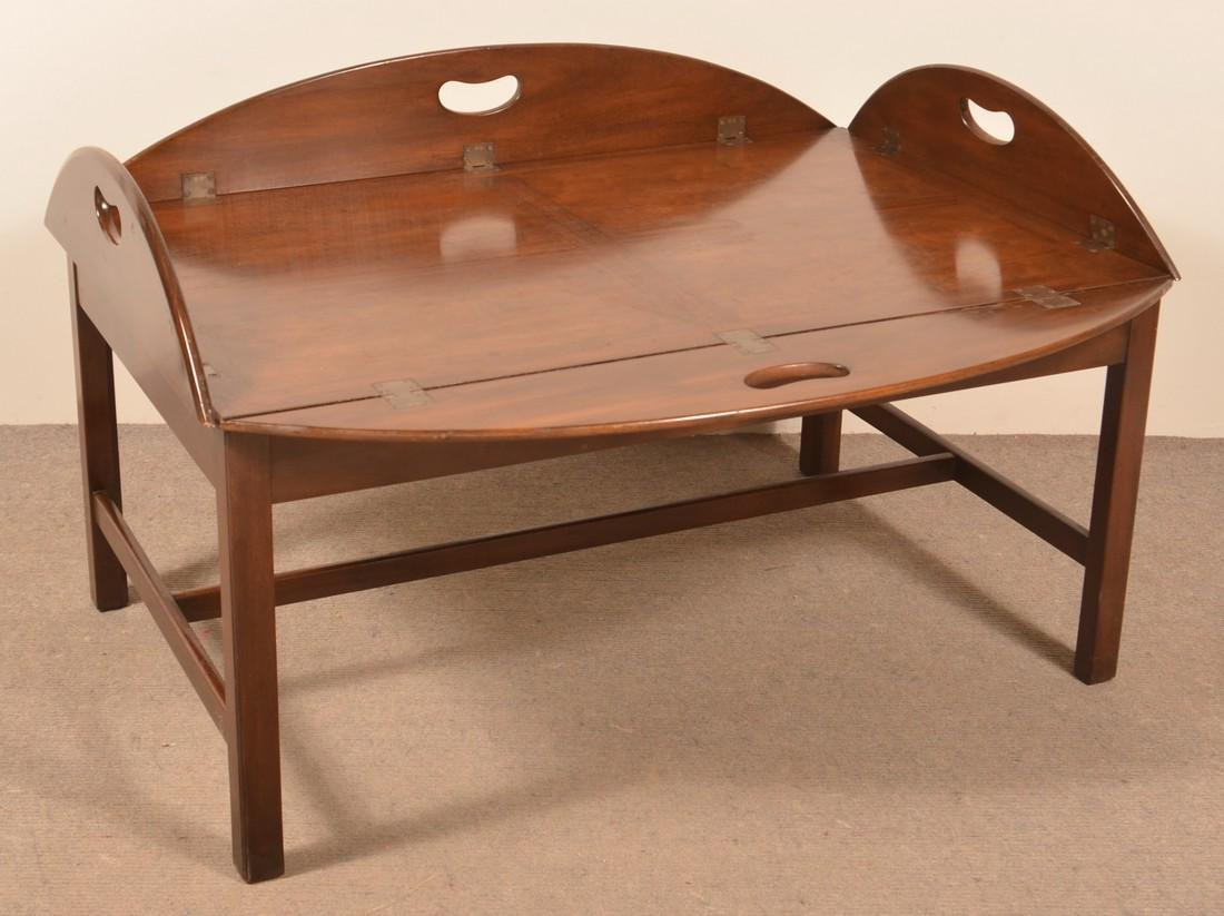 Kittenger Mahogany Butlers Table. - 2