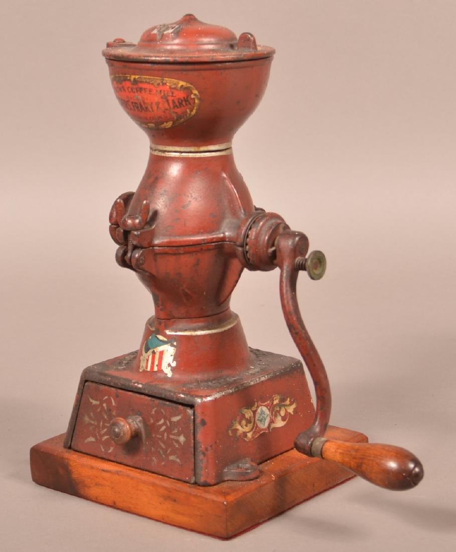Crown Coffee Mill by Landers, Frary & Clark.