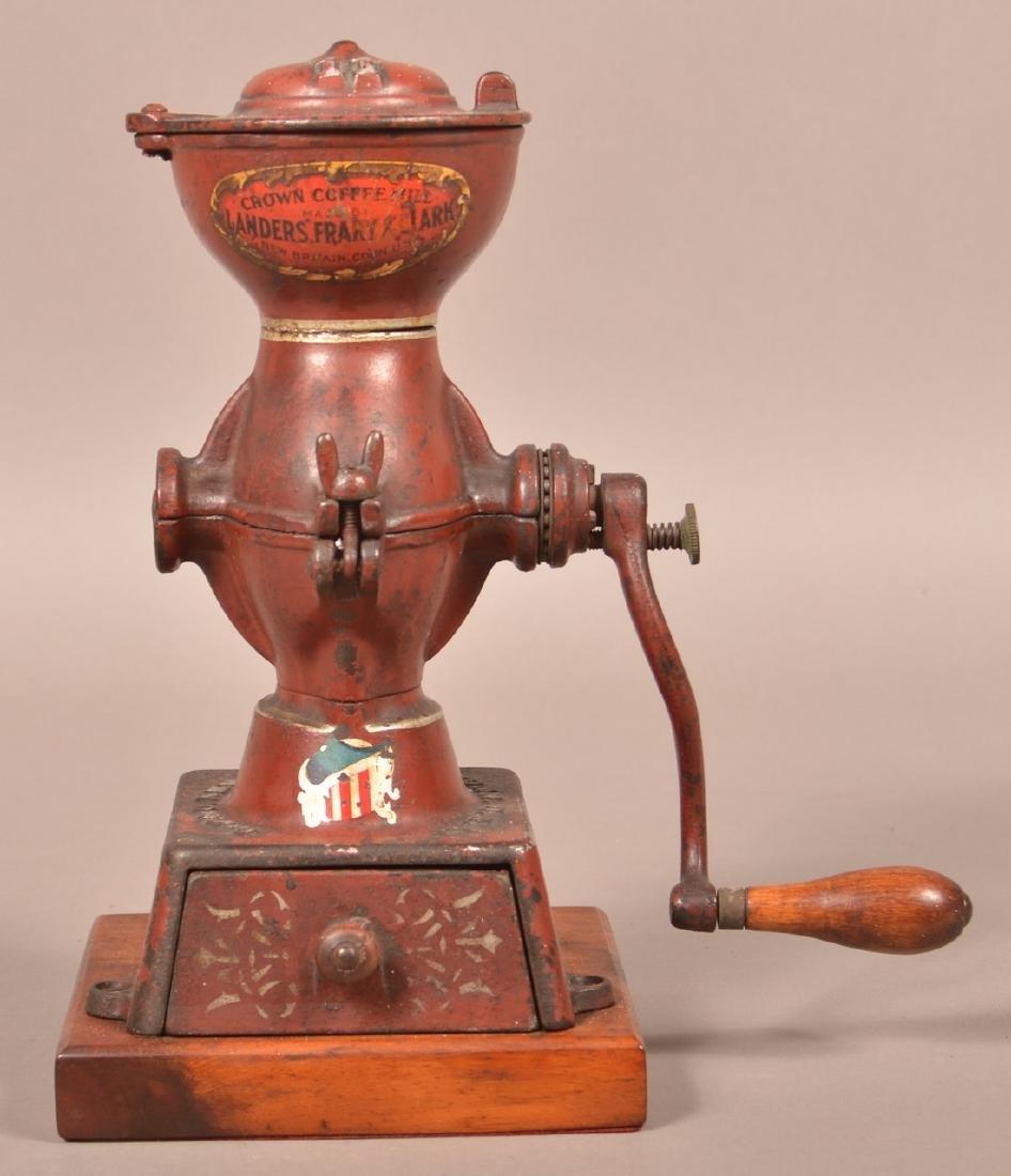 Crown Coffee Mill by Landers, Frary & Clark. - 2