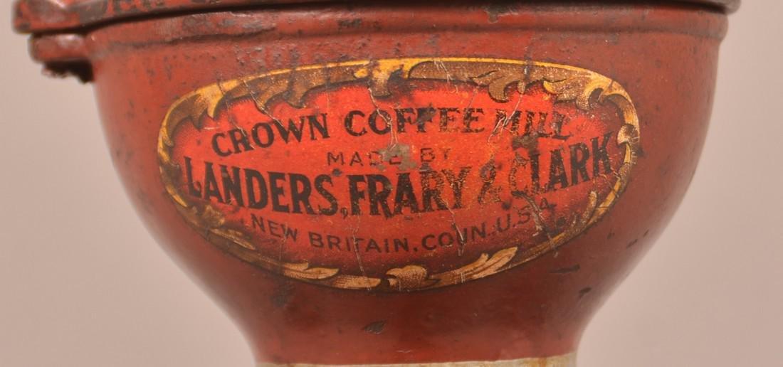 Crown Coffee Mill by Landers, Frary & Clark. - 3