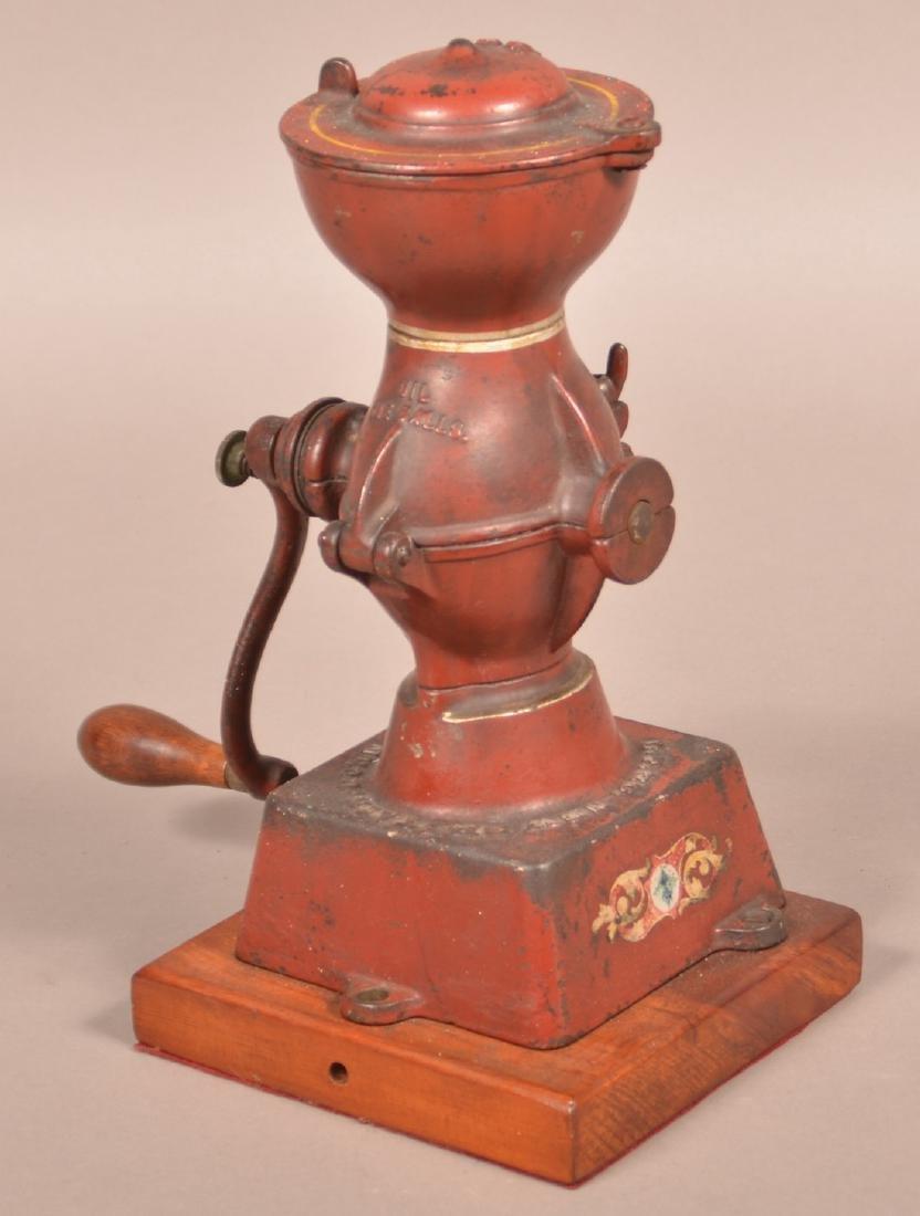 Crown Coffee Mill by Landers, Frary & Clark. - 4