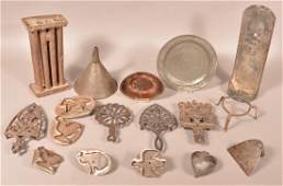 Lot of Various Antique Metal Utilitarian Wares