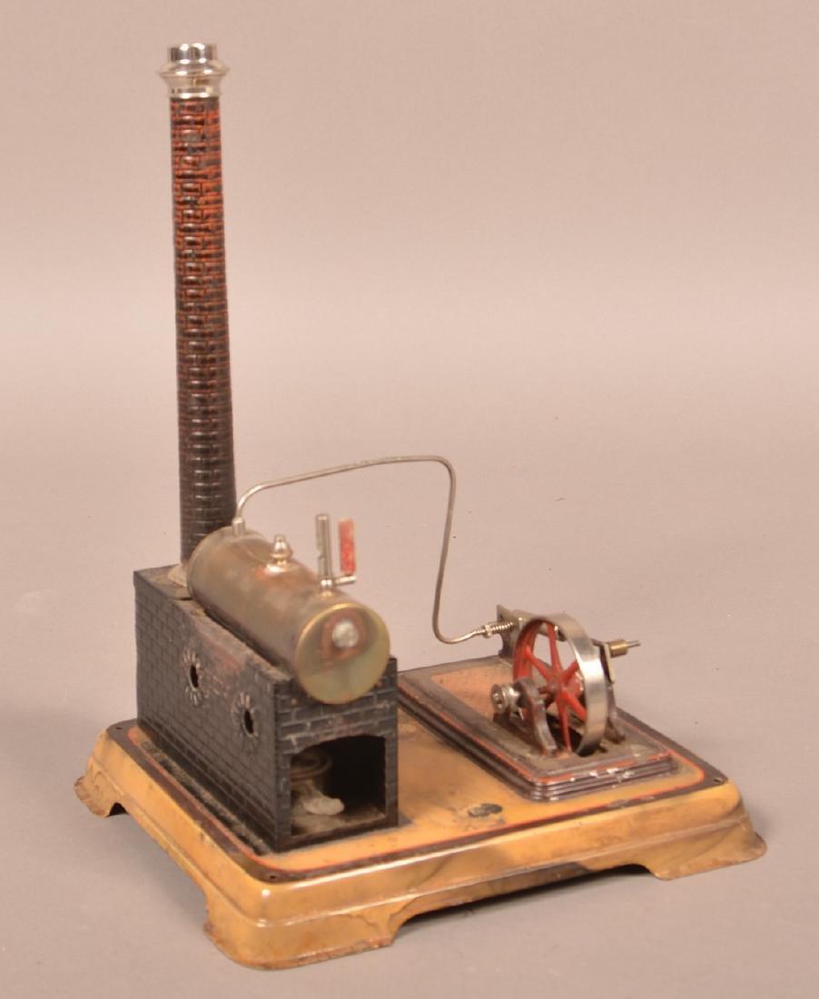 Doll Horizontal Steam Engine Toy.