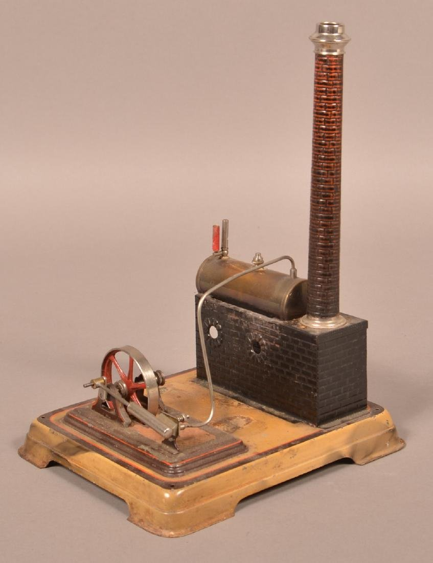 Doll Horizontal Steam Engine Toy. - 2