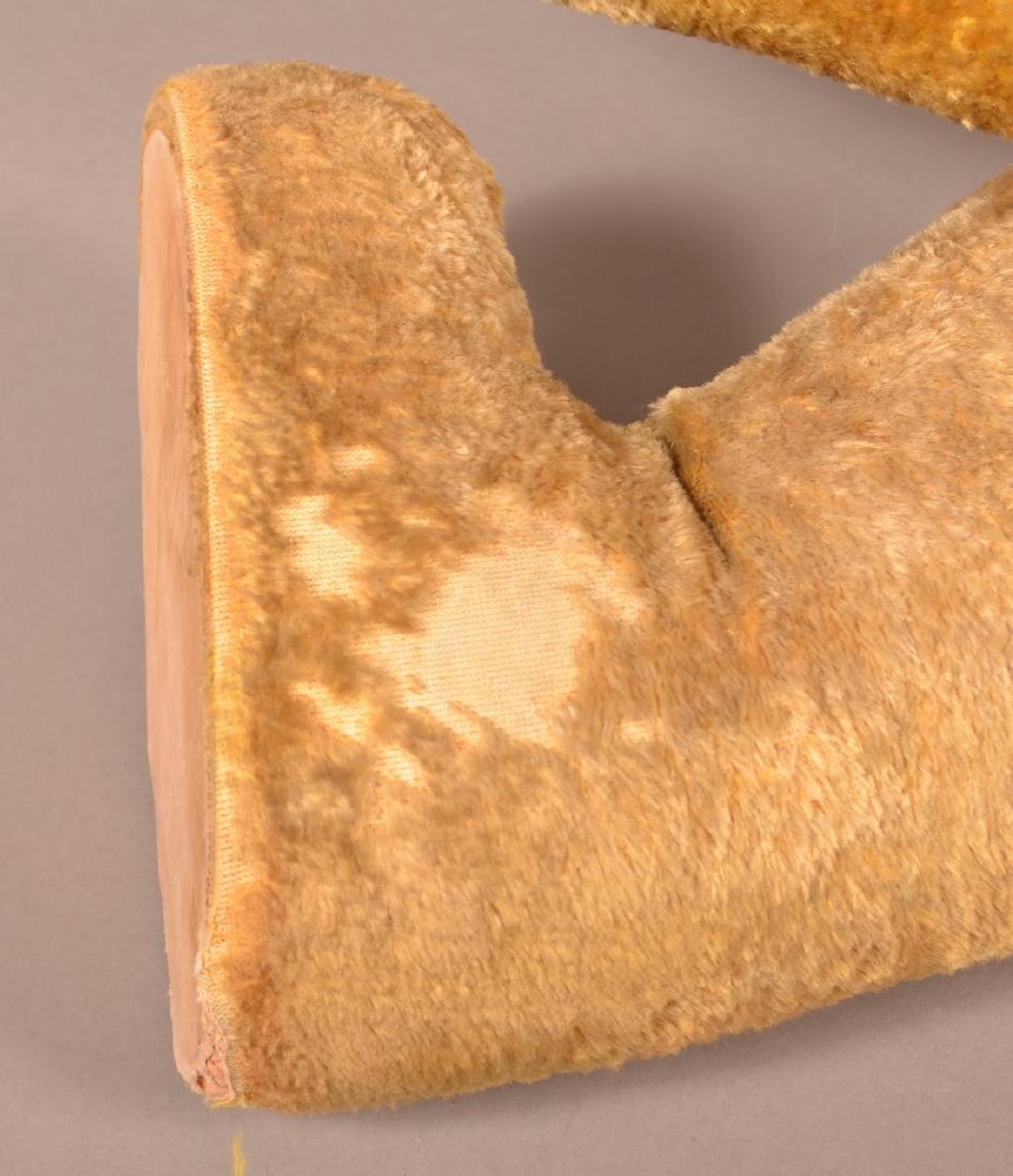 Antique Steiff Type Large Mohair Teddy Bear. - 4