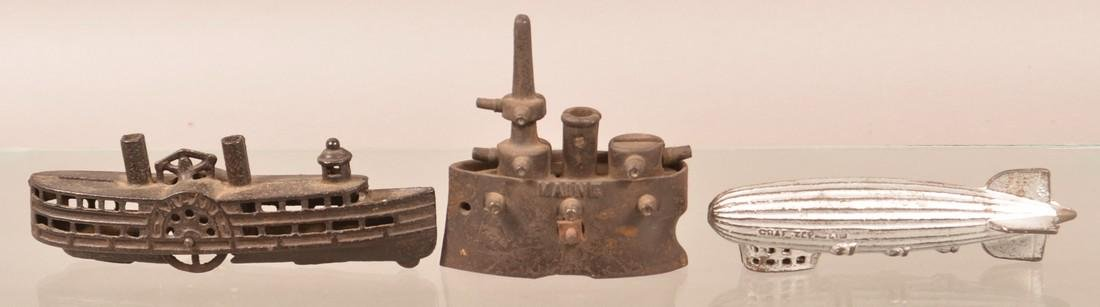 Three Antique/Vintage Cast Iron Still Banks. - 2