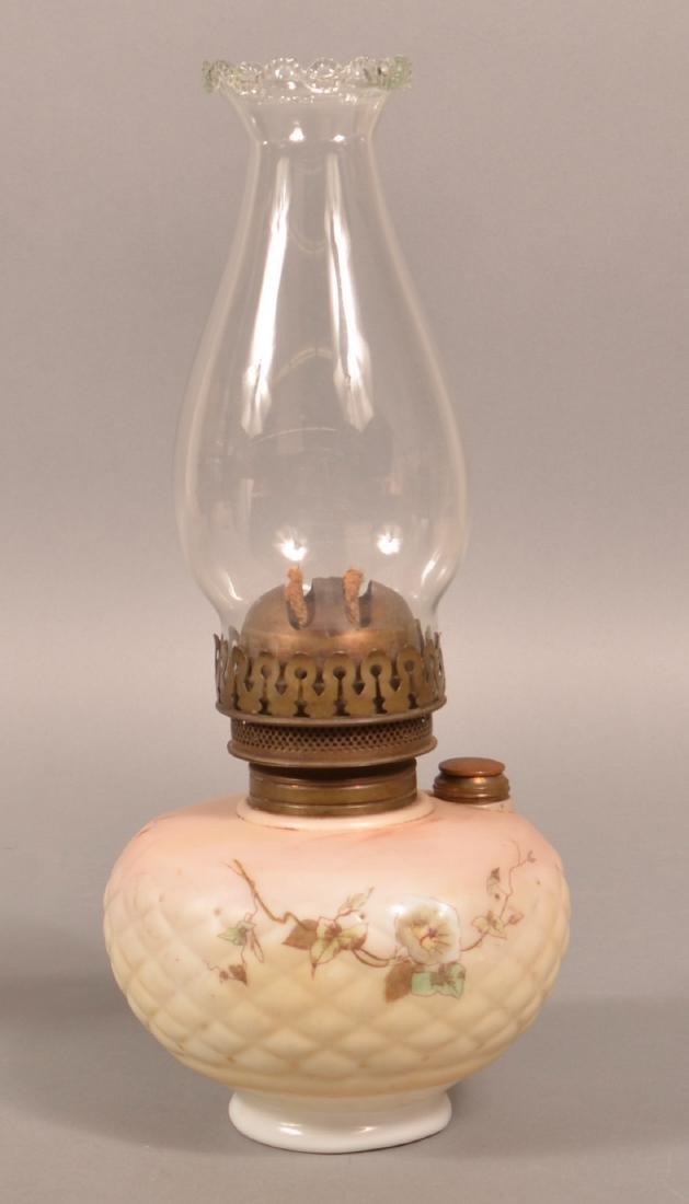 Clarks Patent Opaque Font Bracket Lamp. - 3