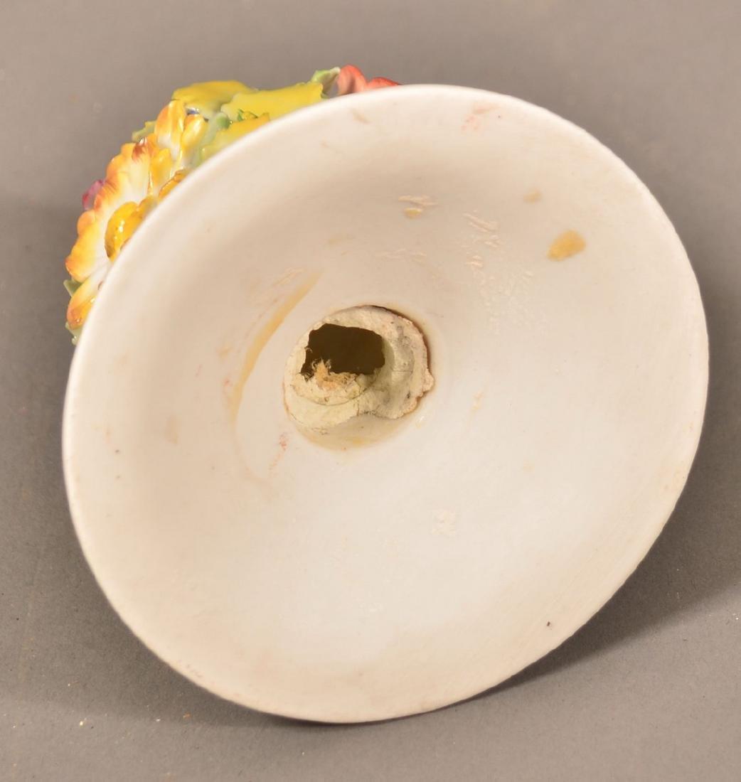 Von Schierholz German Porcelain Figural Lamp. - 10