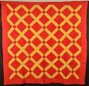 Vintage Geometric Patchwork Quilt