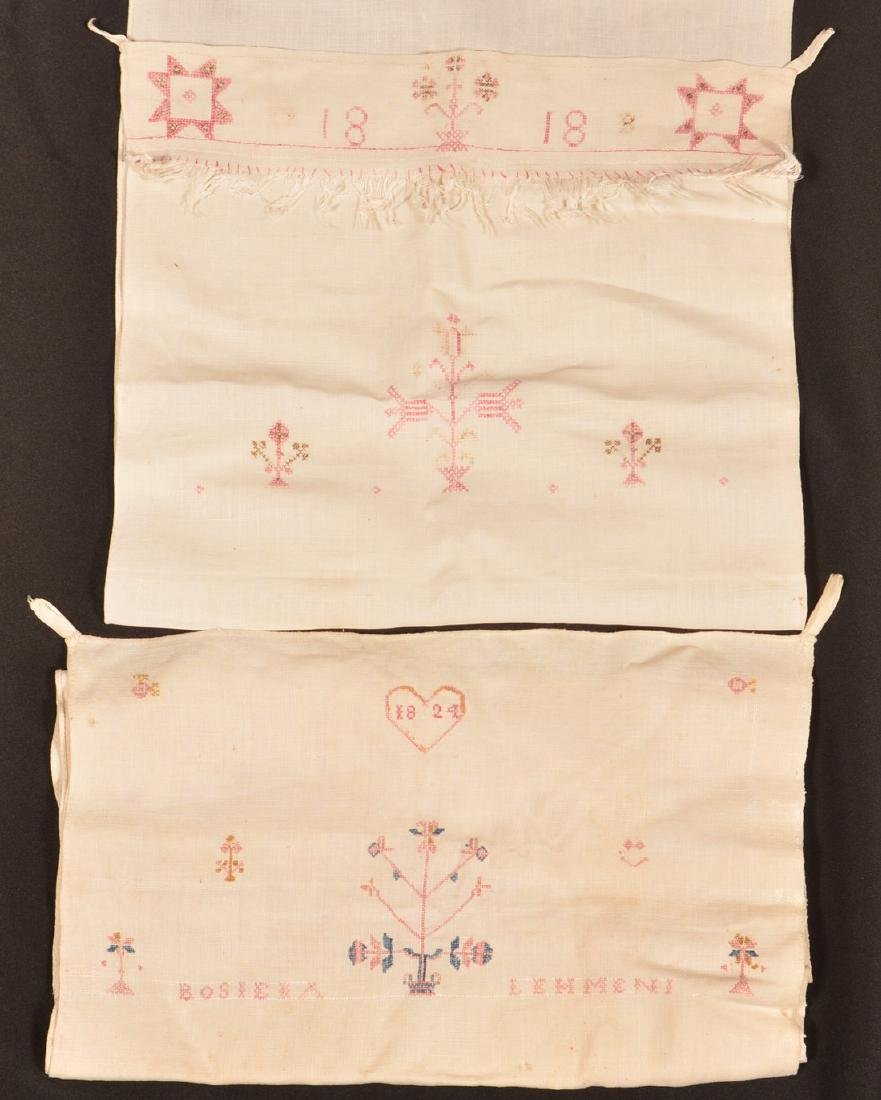 Two PA 19th Century Needlework Show Towels.