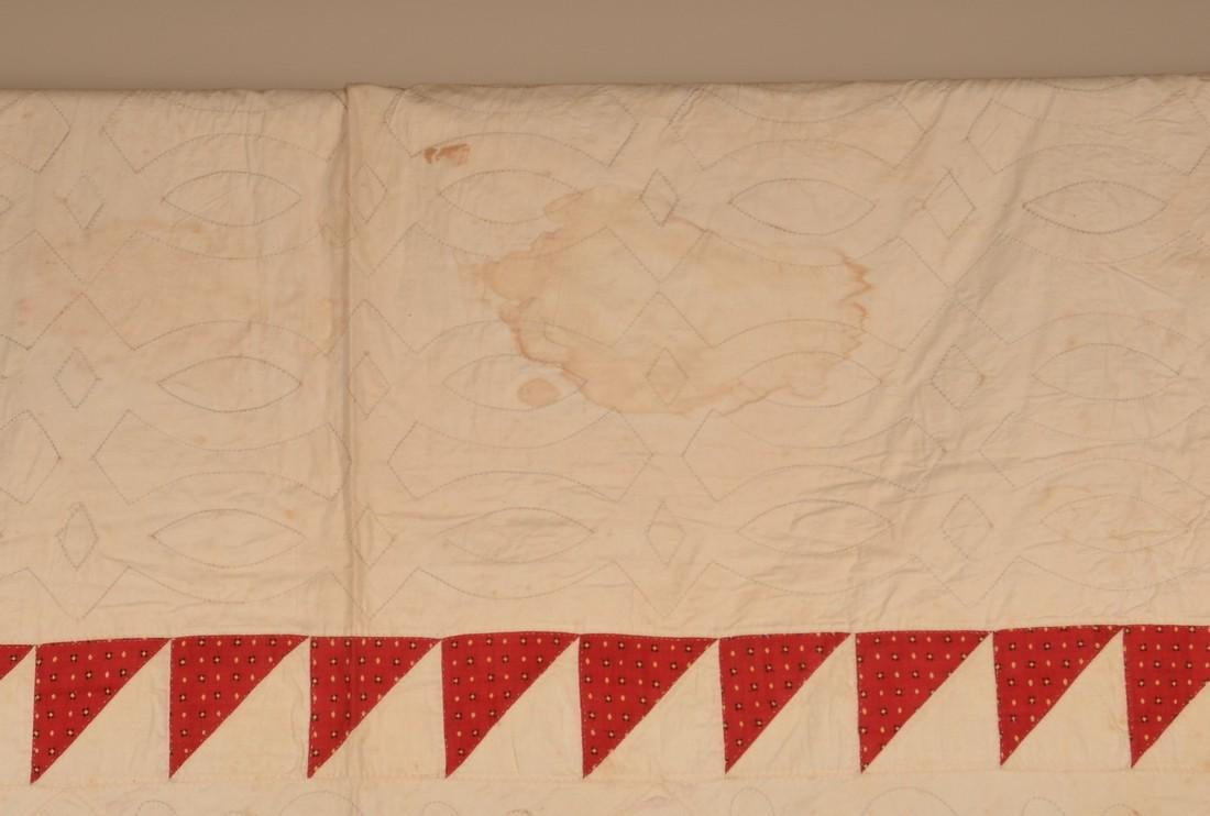 Antique Star Pattern Patchwork Quilt. - 4