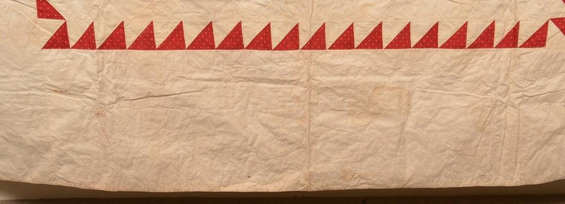 Antique Star Pattern Patchwork Quilt. - 5