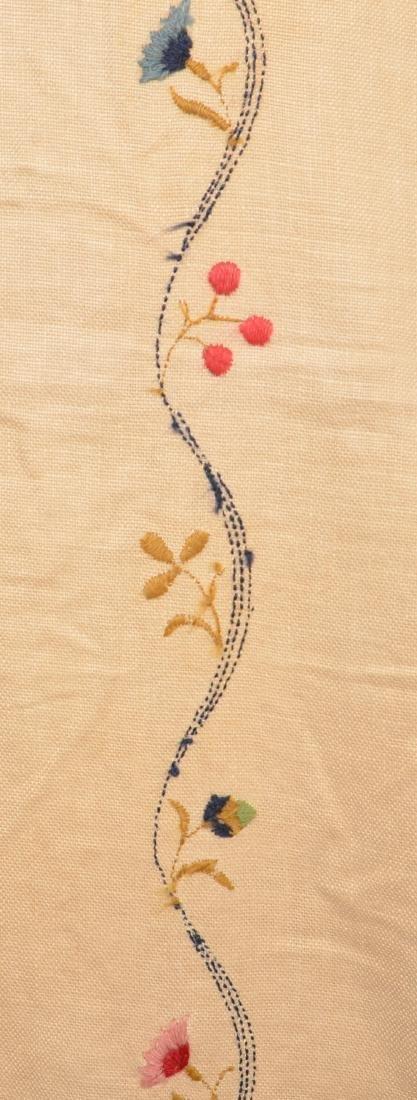 Paragon Bird Tree Floral Needlework Bedspread. - 3