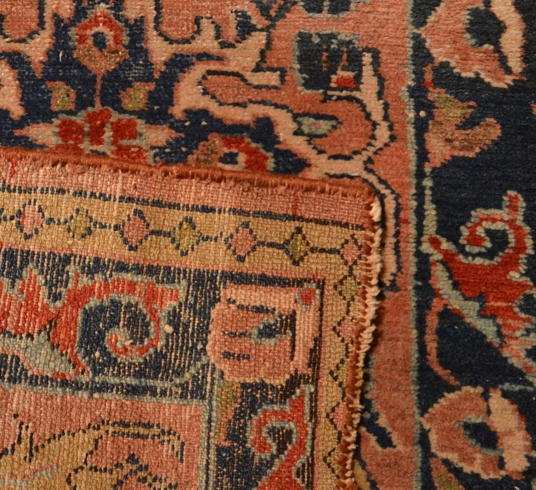 Small Antique Oriental Area Rug. - 4