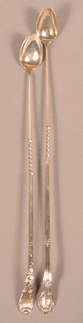 Two Tiffany & Co. Sterling Silver Stirring Spoons.
