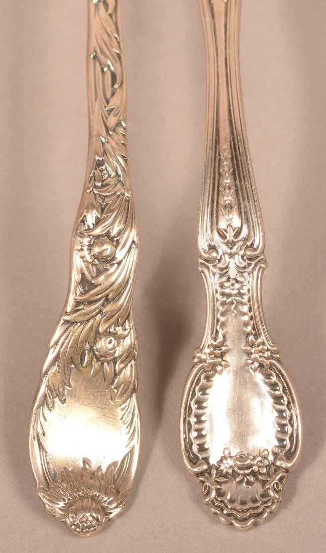 Two Tiffany & Co. Sterling Silver Stirring Spoons. - 2