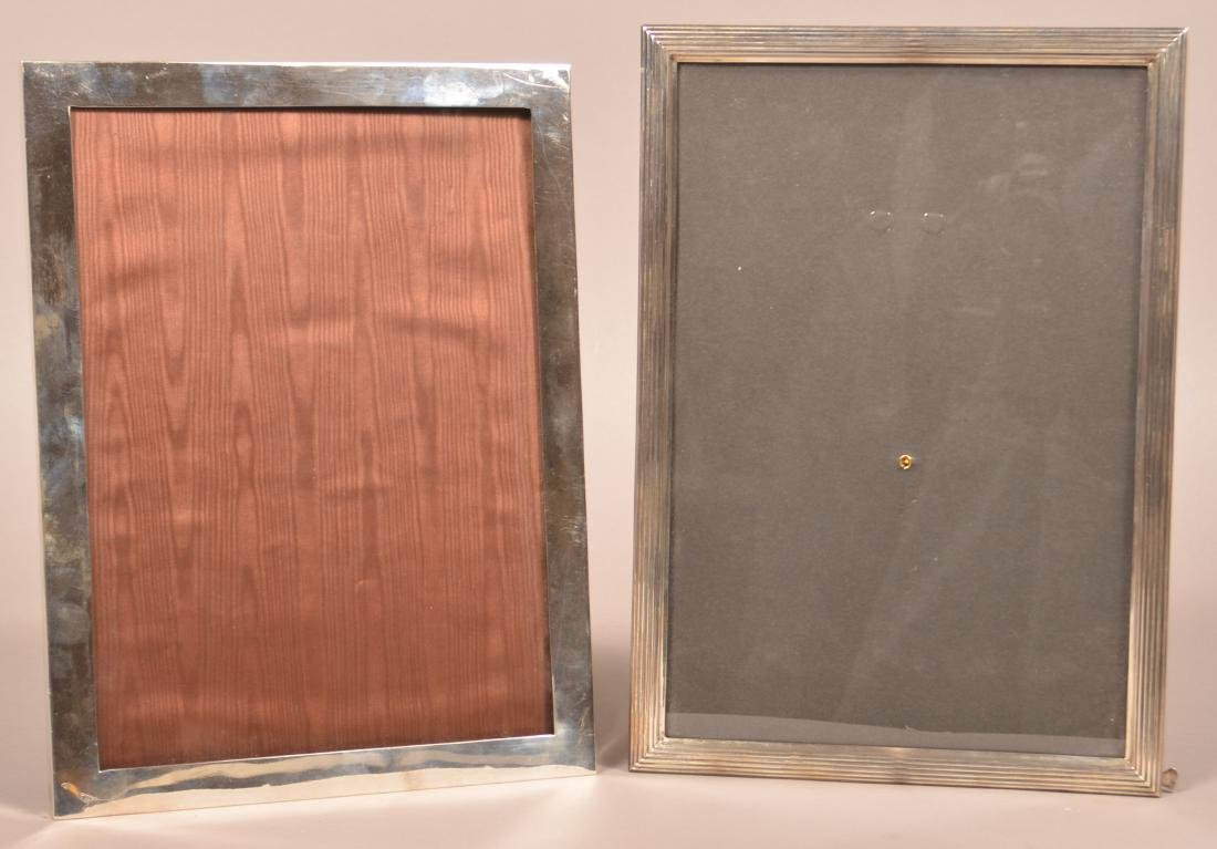 Two Sterling Silver Picture Frames.