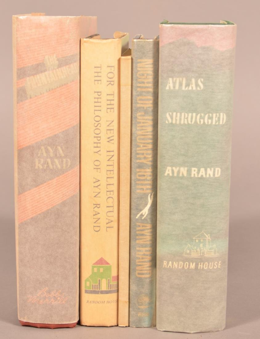 Lot of Five Books by Ayn Rand. - 2