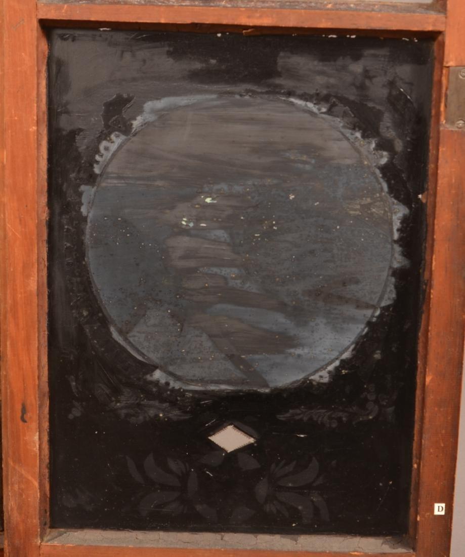 Ephraim Downs Pillar and Splat Clock. - 4