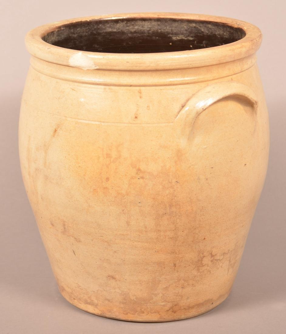 F.H. Cowden Three Gallon Stoneware Crock. - 2