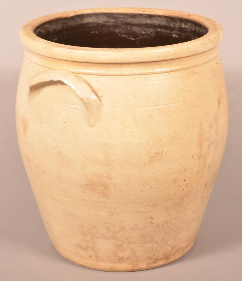 F.H. Cowden Three Gallon Stoneware Crock. - 3
