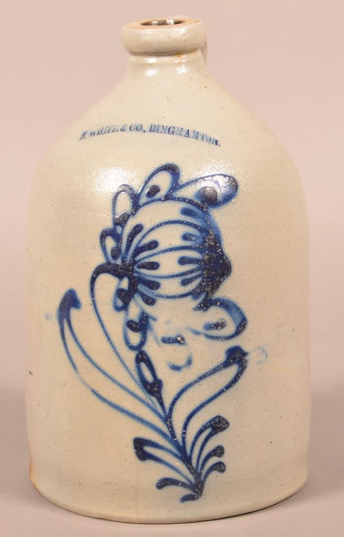 N. White & Co. 1-1/2 Gallon Stoneware Jug.