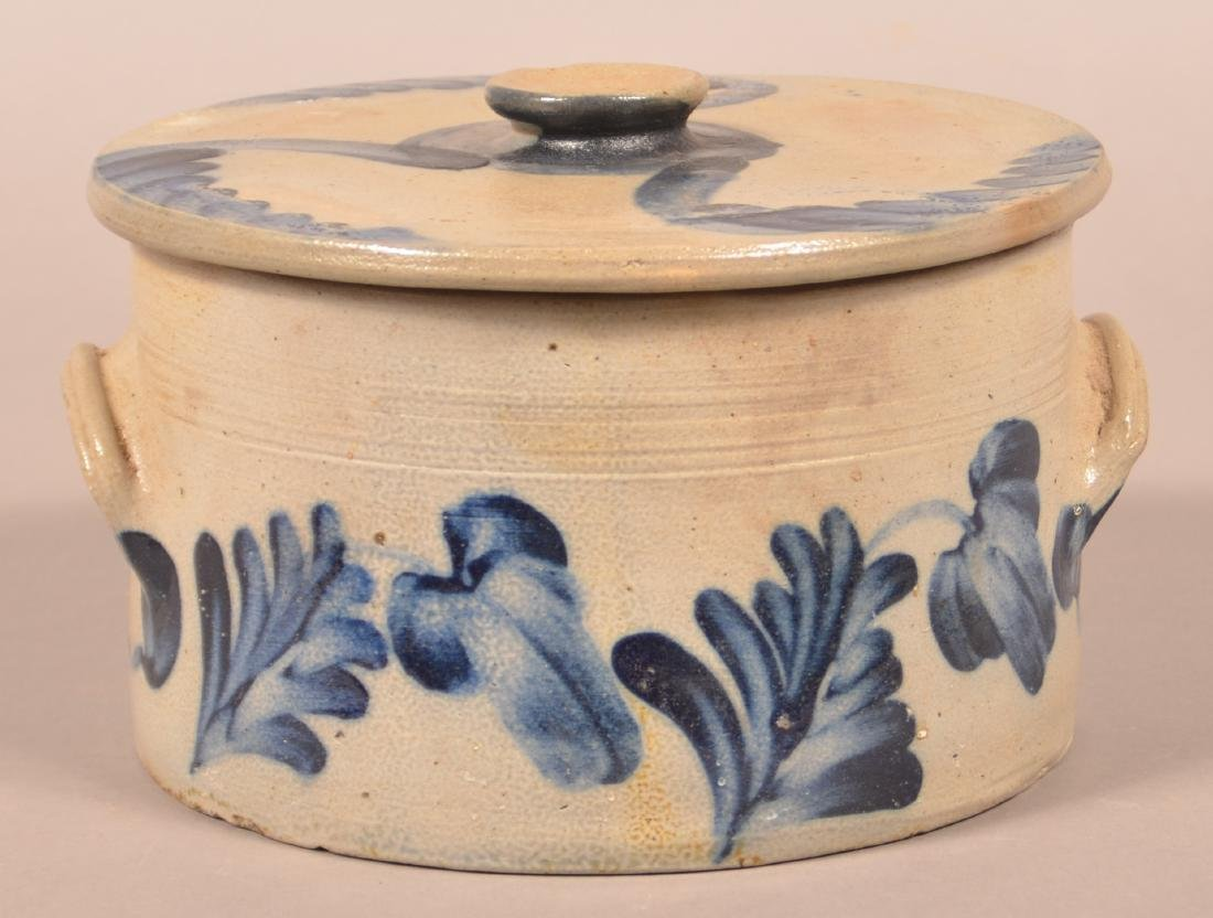 Stoneware Cake Crock Attributed to Remmey.