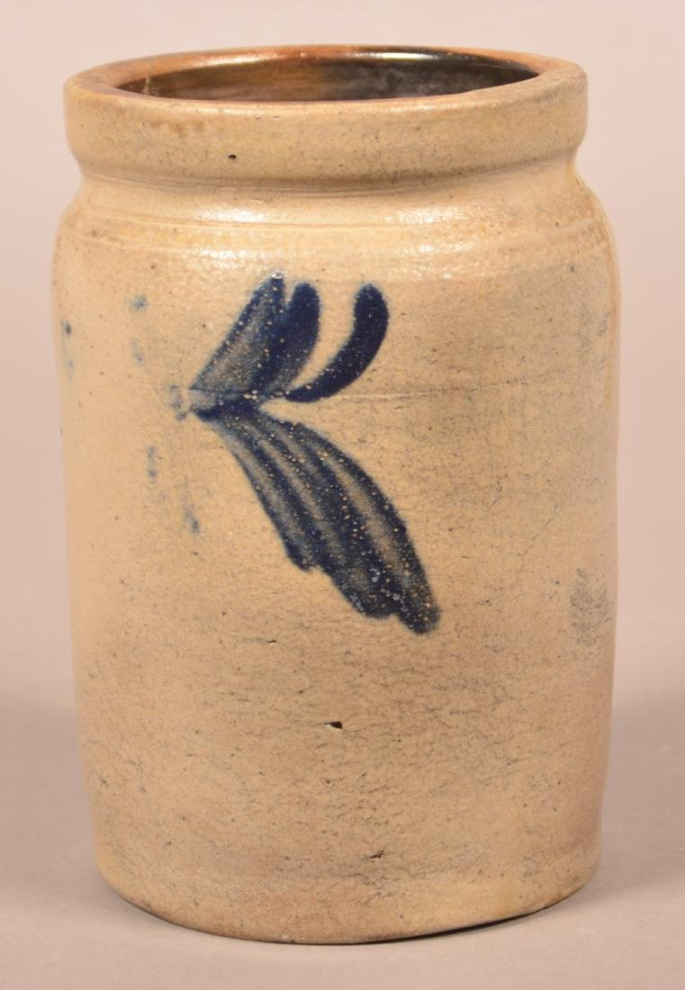 Stoneware Quart Jar Attributed to Remmey.
