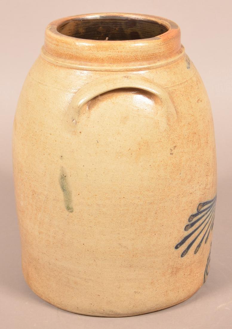 Whites, Utica Three Gallon Stoneware Crock. - 2
