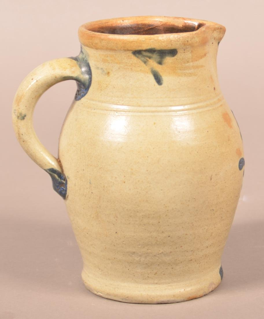 Small Stoneware Pitcher Attributed to Remmey. - 2