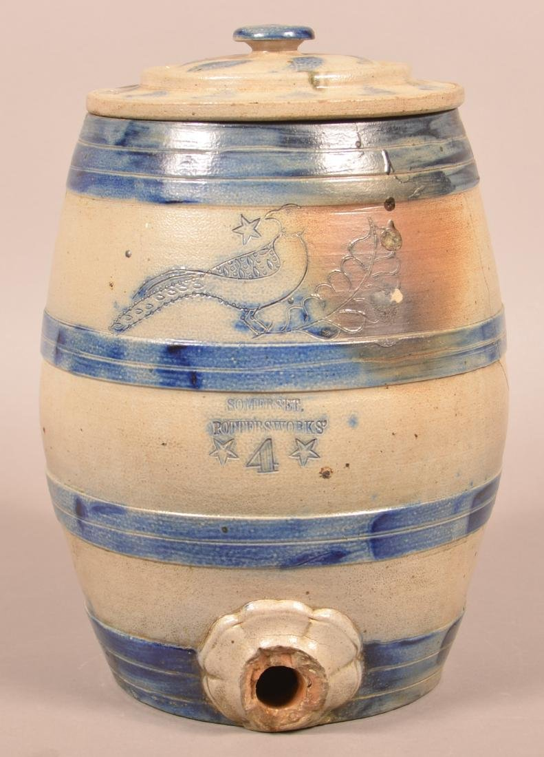Somerset Potters Works Stoneware Water Cooler.