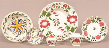 Six Various Pieces of Staffordshire China.