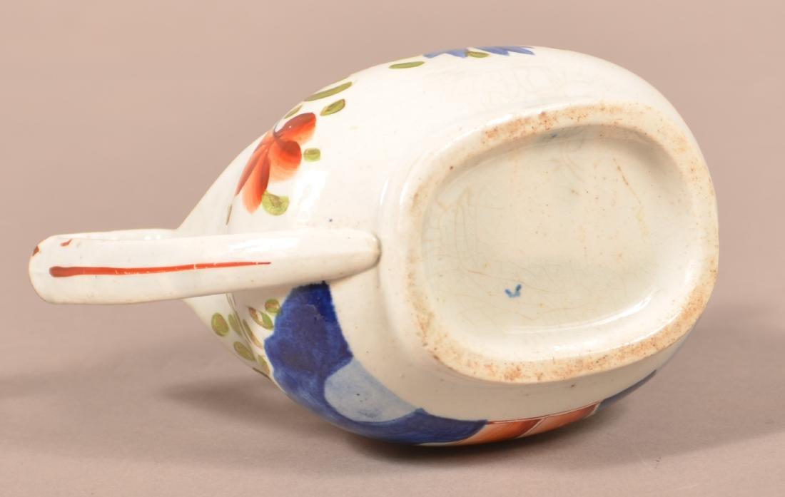 Gaudy Dutch China Double Rose Cream Pitcher. - 3