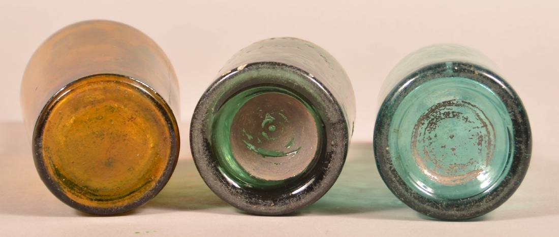 Four Various Antique Glass Bottles. - 3
