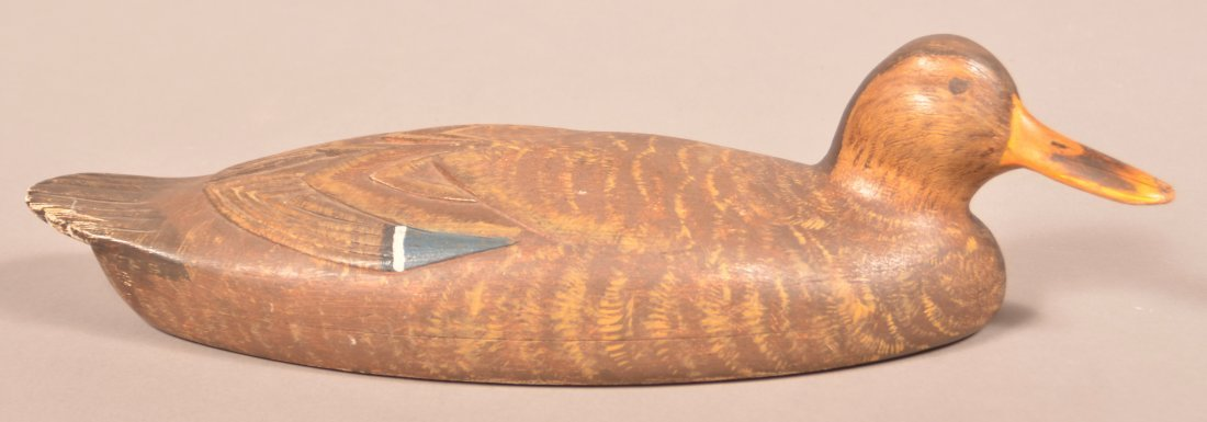 Fine Carved and Painted Mallard Hen Decoy.