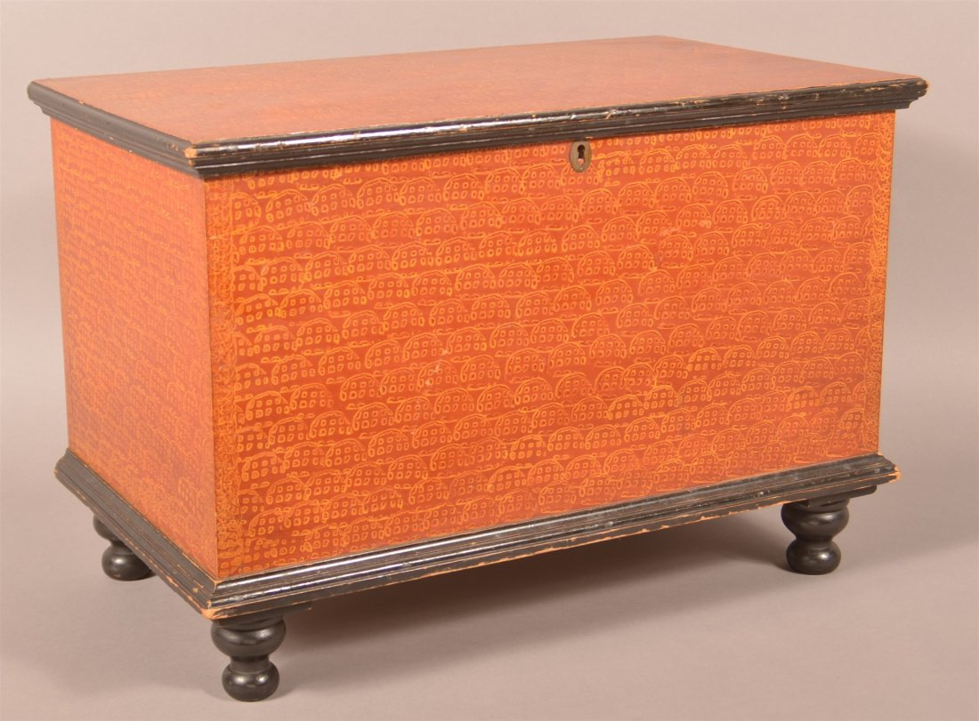 Outstanding Manheim PA Miniature Blanket Chest.