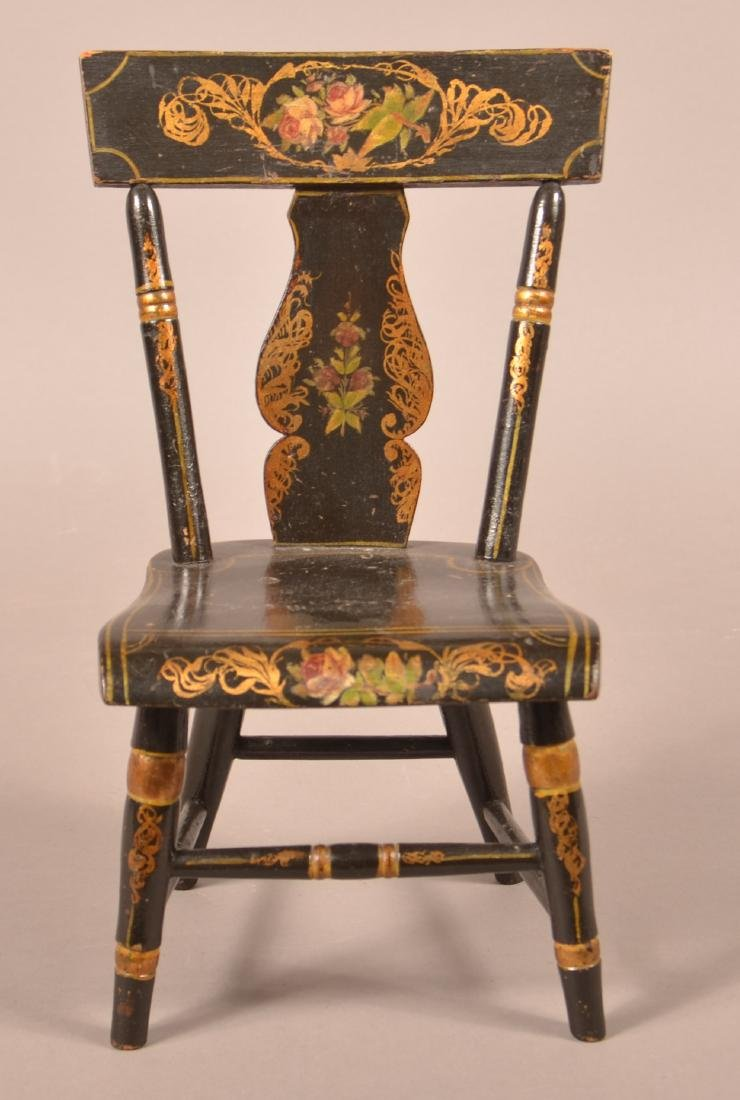 19th Century Salesman Sample Sidechair.