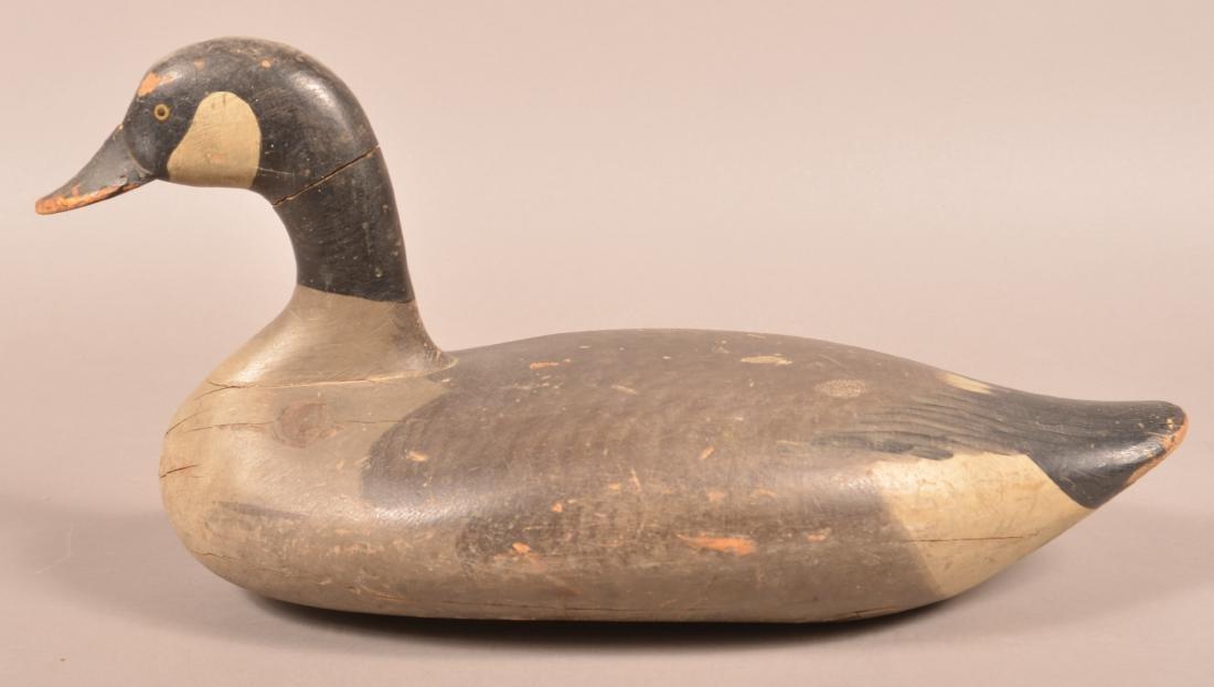 Vintage Canada Goose Decoy.