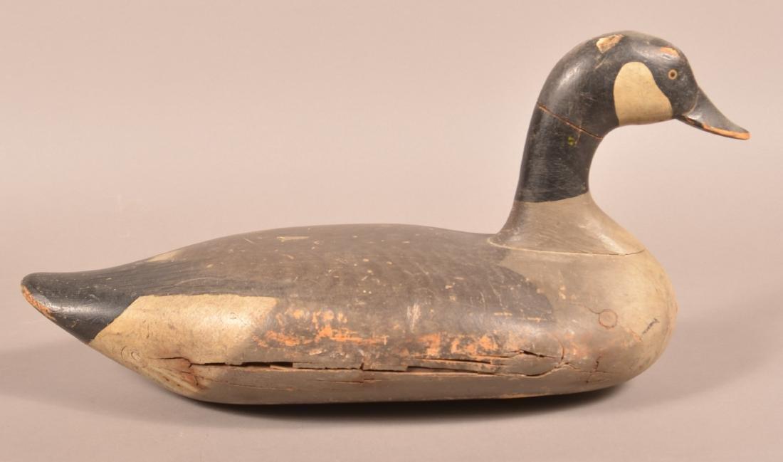 Vintage Canada Goose Decoy. - 2