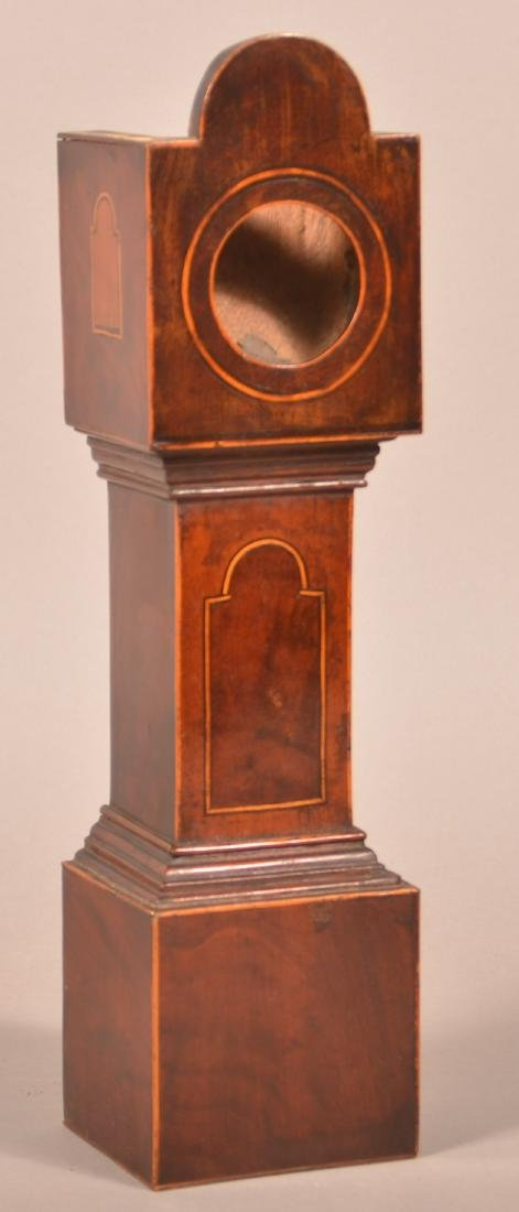 Federal Miniature Tall Case Clock Watch Hutch.