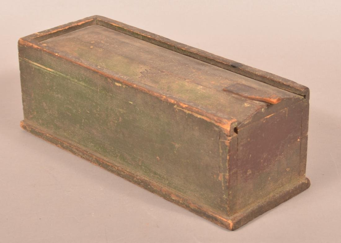 Pennsylvania 19th Century Pine Slide Lid Box.