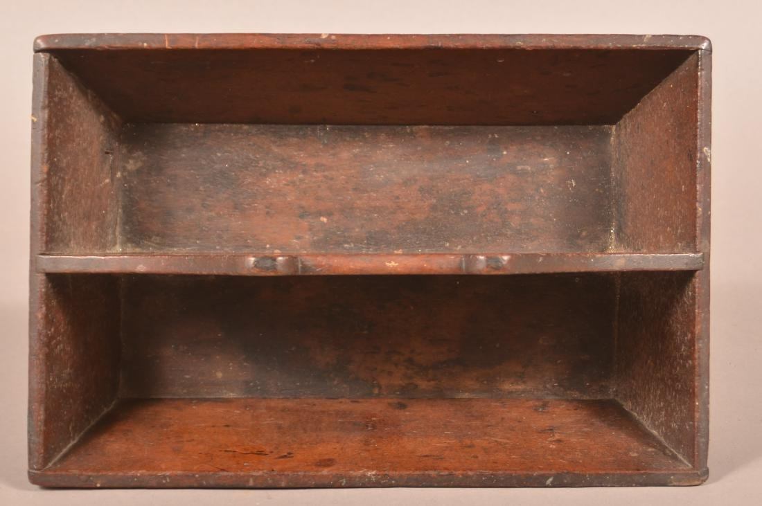 Pennsylvania 19th Century Cherry Cutlery Box. - 3