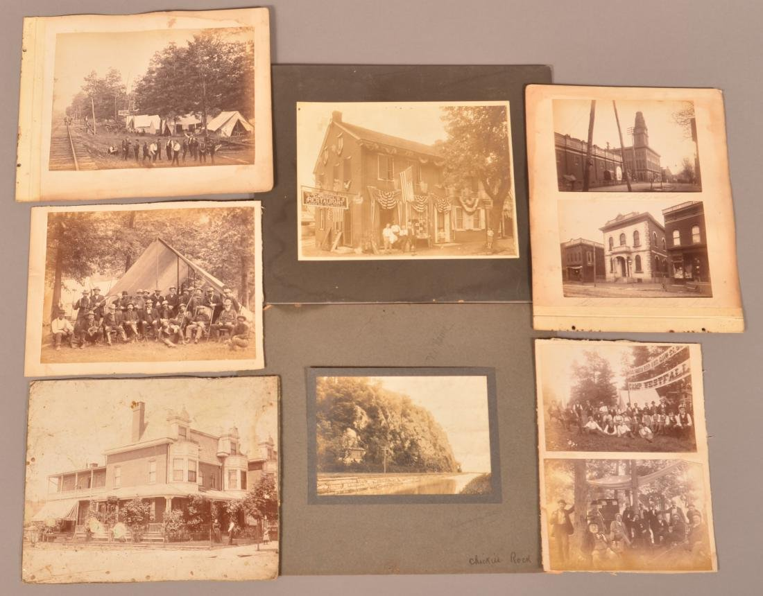 Lot of Antique Original Photos of Columbia, PA.