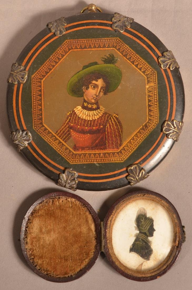 Two 19th Century Miniature Paintings.