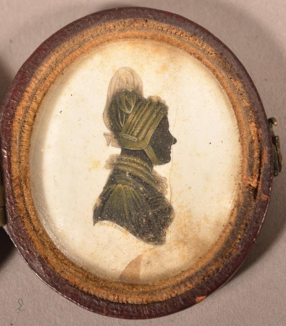 Two 19th Century Miniature Paintings. - 2