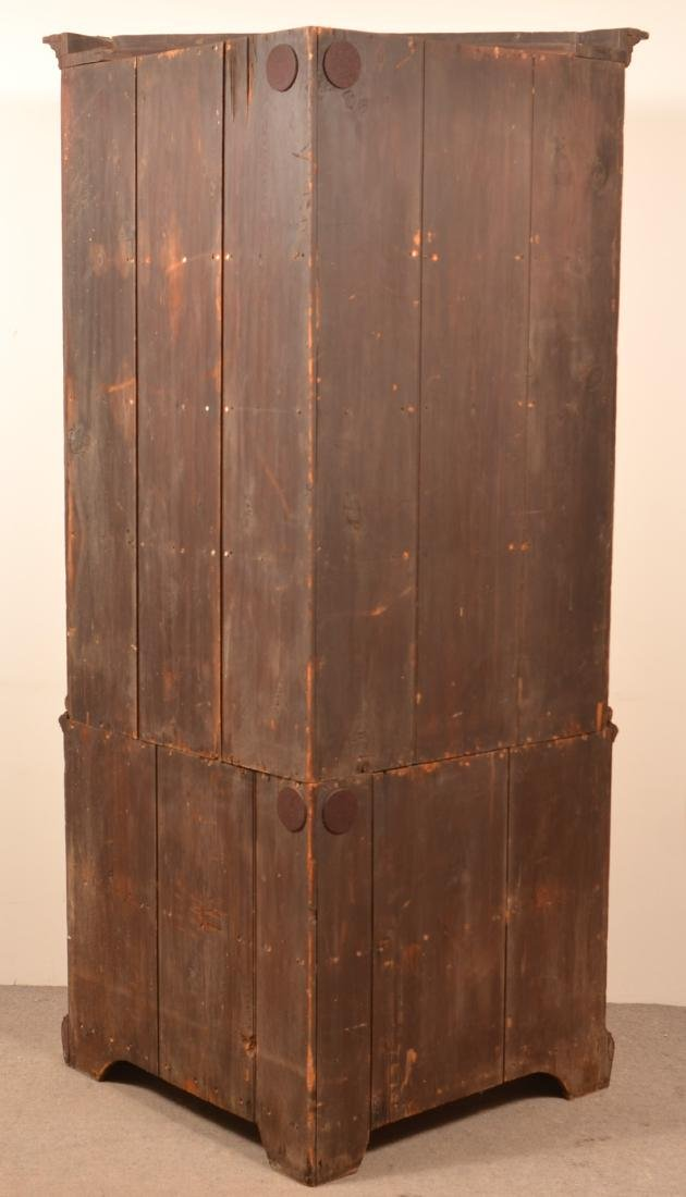 PA Chippendale Softwood Corner Cupboard. - 3