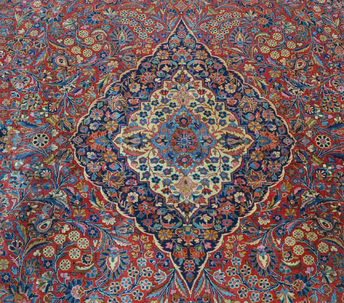 Antique Persian Center Medallion Room Size Rug. - 2