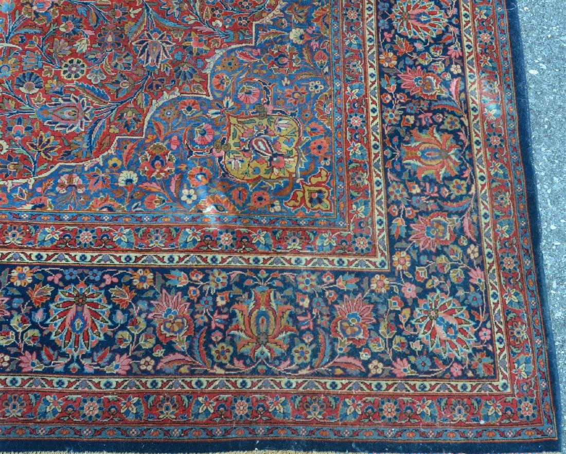 Antique Persian Center Medallion Room Size Rug. - 3