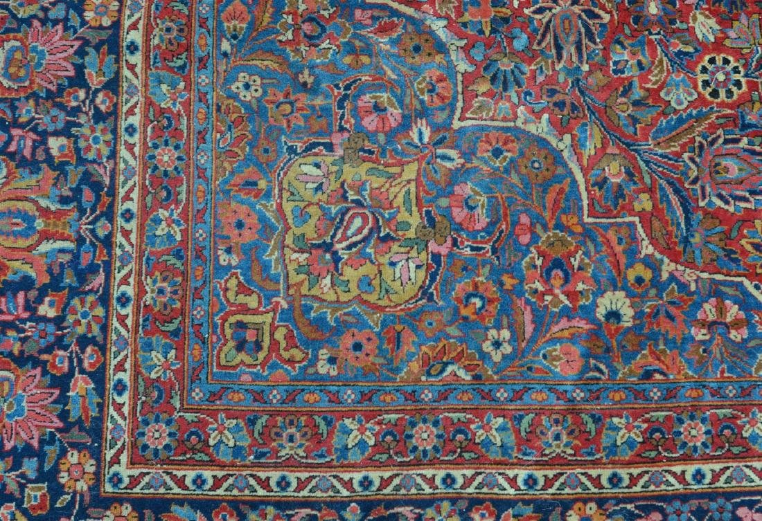 Antique Persian Center Medallion Room Size Rug. - 4